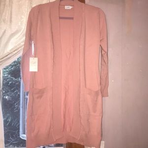 CIELO GORGEOUS LIGHT PINK MEDIUM IN SIZE SWEATER